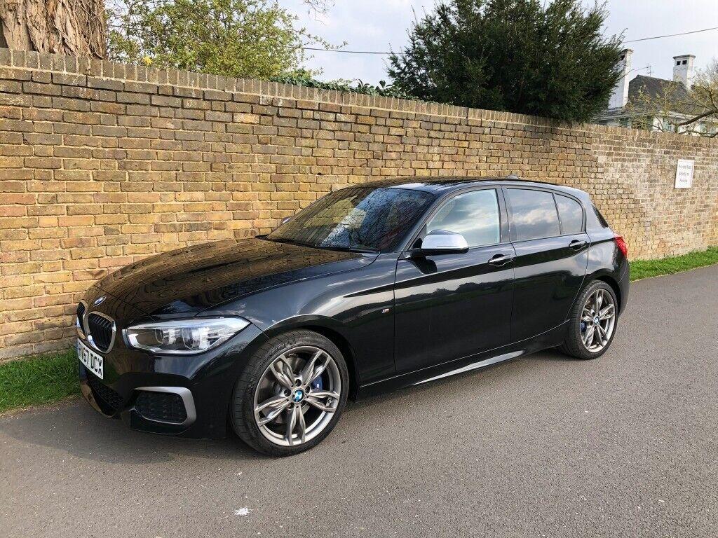 BMW M140i Shadow Edition Auto - Black Sapphire - Pro NAV - Adaptive Dampers  - Red Dakota Leather | in Southfields, London | Gumtree
