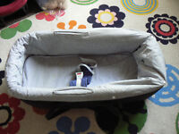 Old but functional carry cot