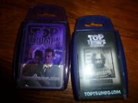 2 x Top Trump special cards good used condition Dr Who (David Tennant) and Harry Potter
