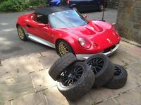 Lotus Elise S1 with long MOT finished in Lotus 49 racing livery. Drives superb, Cat D 2011