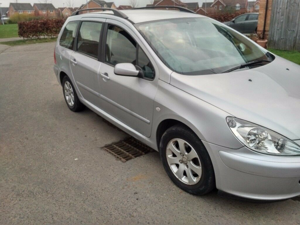 PEUGEOT 307 1.6 SW ESTATE DRIVES GREAT SERVICE HISTORY ALLOY WHEELS ...