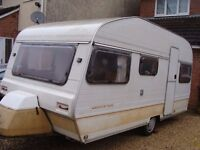 Avondale Perle 4/6 berth touring caravan with awning