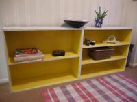 Solid wood shelf for hallway/toys / books