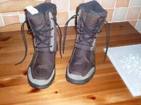mens snow,walking,fishing,hunting boots.