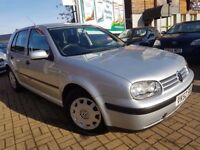 VOLKSWAGEN GOLF 1.6 S 5 DOOR, AUTOMATIC, FRESH MOT, GOOD RUNNER, 3 MONTHS WARRANTY