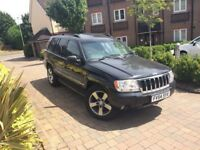 2005 JEEP GRAND CHEROKEE 4.7 V8 PLATINUM EDITION REALLY LOW MILEAGE 33K 1 OWNER - LPG CONVERSION