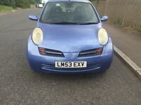 NISSAN MICRA 2003 PETROL 1.2 AUTOMATIC FOR SALE!!!