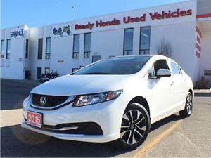 2015 Honda Civic Sedan EX - Lane watch - Sunroof