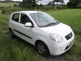 Selling a Kia Picanto in good condition we bought new in 2010