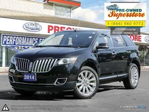2014 Lincoln MKX ***ONE OWNER, ULTRA LOW KMS!***