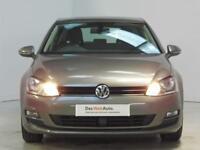 Volkswagen Golf SE TDI BLUEMOTION TECHNOLOGY (grey) 2014-09-01