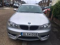 BMW 1 SERIES 2005 MANUAL DIESEL, BRAND NEW M.O.T,FULL SERVICE HISTORY,VERY GOOD CONDITION,LADY OWNER