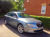 "2009 09 REG Skoda Superb 2.0 TDI PD SE DSG 5dr "" HPI CLEAR """