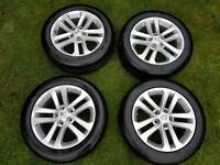 Nissan Juke alloy wheels with tyres