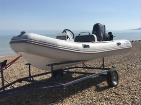 Valiant 4m Rib Boat Suzuki 55 hp