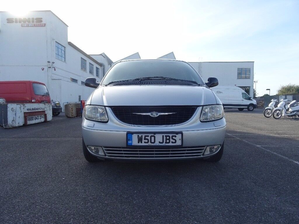Chrysler Grand Voyager 2.5 CRD Limited 5dr£1,595 p/x welcome 7 seater Cambelt Replaced