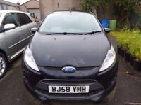P/EX TO CLEAR NEW SHAPE FORD FIESTA 1.6 ZETEC S TDCi 3dr CHEAPEST IN UK, MOT EXPIRED, STARTS/DRIVES