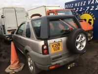 Land rover freelander petrol 3 door spare parts available