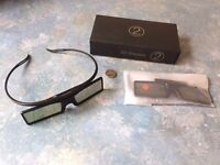 Samsung 3D Glasses - 2 x Pair (As New)