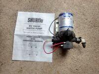 12 vdc Diaphragm pump: Shurflo Trail King 7