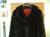 Fur coat FAUX Martin Blau