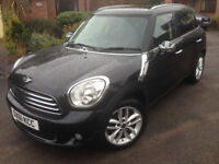 2011 61 plate Black Mini Countryman Cooper D Chilli pack