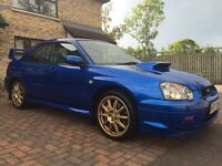 2004 Subaru Impreza WRX STI Type UK