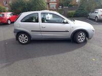 2002 Vauxhall Corsa Sxi 1.2 Mot to December