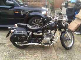 Lovely Bike good condition Low mileage Garaged reliable great ride. Saddle bags Panniers Screene