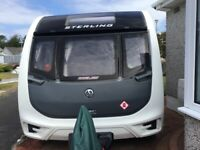 2016 STERLING ECCLES 4 BERTH TOURING CARAVAN