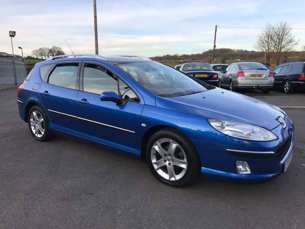 peugeot 407 sw sw se 2 0 hdi estate blue 2005 in maidstone kent gumtree. Black Bedroom Furniture Sets. Home Design Ideas