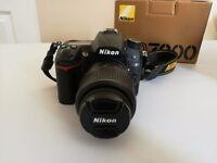 Nikon D7000 + Nikon AF-S 18-55/3/5-5/6G VR Lens
