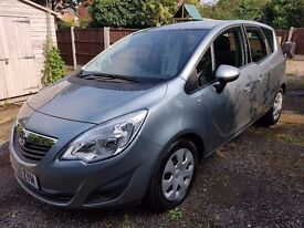 Vauxhall Meriva. 1.4 Exclusive. Immaculate Condition. 2 owners from new. 012054 miles. Stunning.