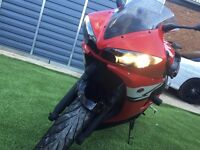 Yamaha R6 600cc YZF-R6 Motorbike Race Street bike very low mileage