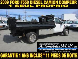 2009 Ford F-550 DIESEL DOMPEUR 1 SEUL PROPRIO