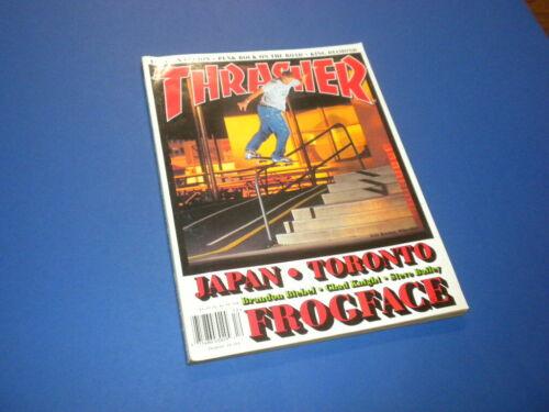 THRASHER magazine 2000 December SKATEBOARDING/SKATEBOARD