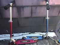 2 x Kalloy Scooters