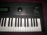 KURZWEIL K2000 VP / K-2000 VP , 61 Keyboard , Synthesizer with 34MB Ram and 16 Channel Sequenser.