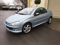 Peugeot 206cc 1.6 With Full Leather !!