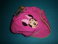 New Disney Store Minnie Mouse Cap Age 18 Months - 5 Years IP1