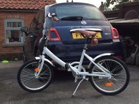 Fiat 500 Foldable Bike - Brand New