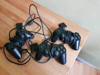 Ps2 controllers x 3
