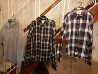 Abercrombie & Fitch shirts (x3)