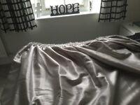 Silver Grey Curtains