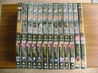 Babylon 5 TV series VHS tapes - 26 in total