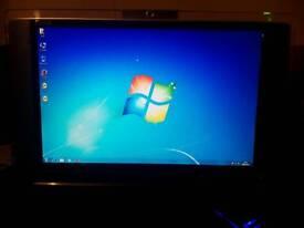 All - in - one desktop PC * webcam , wifi etc