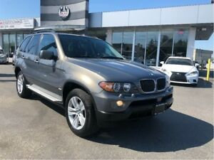 2006 BMW X5 3.0L AWD Leather Panoramic Roof Only 109,000Km
