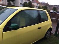 Volkswagen lupo spares or repair