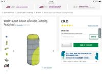 Worlds Apart Junior Inflatable Camping Readybeds