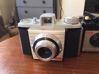 3 x vintage 1950s Kodak film cameras